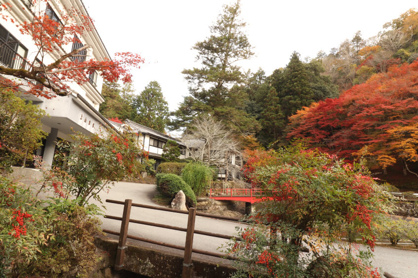 A 300-year-old historic hot spring of Harimano.
